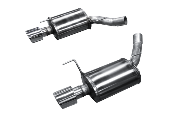 American Racing Headers - Mustang GT500 / 3 VALVE ARH PURE THUNDER AXLE BACK MUFFLER SYSTEM