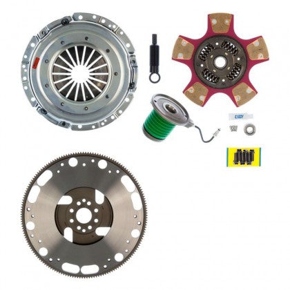 Exedy 07953PFW Stage 2 Mach 700 Paddle Style Disc Clutch Kit (2005-2016 Mustang GT w/T56 Magnum Upgrade / 2007-2014 Shelby GT500)