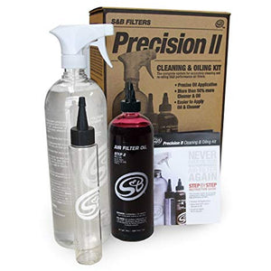 S&B - PRECISION II: CLEANING & OIL KIT