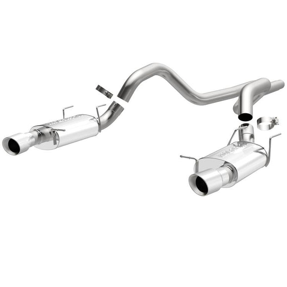 MagnaFlow - Ford Mustang Street Series Cat-Back Performance Exhaust System