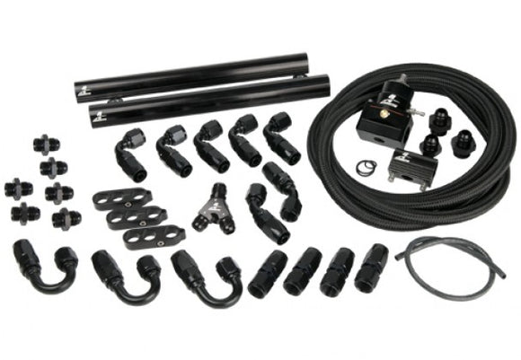 Aeromotive - (2007-14) SVT Shelby GT500 Cobra Jet Fuel Rail and Line Kit