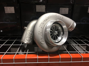 On 3 Performance - 107mm CNC Billet Wheel Turbocharger T6 Stainless V-band Exhaust Housing