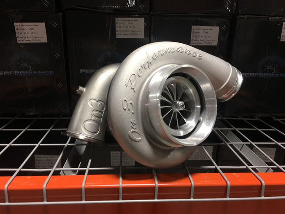 On 3 Performance - 107mm Cast Aluminum Wheel Turbocharger T6 Stainless V-band Exhaust Housing