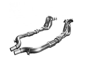 "Kooks - 2015 + MUSTANG GT 5.0L 1 7/8"" X 3"" STAINLESS STEEL LONG TUBE HEADER W/ GREEN CATTED CONNECTION PIPE"