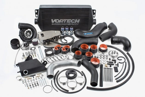 Vortech - (2015-17) Mustang GT V-7 JT Tuner Kit with Air-to-Air Charge Cooler, Polished Finish