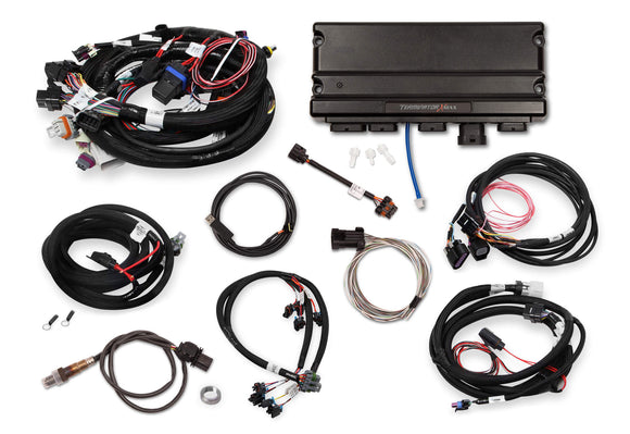 TERMINATOR X MAX 24X /1X MULTEC 2 LS MPFI KIT WITH DBW THROTTLE BODY AND TRANSMISSION CONTROL KIT - WITHOUT 3.5