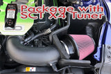 PACKAGE: JLT COLD AIR INTAKE / SCT X4 TUNER (2015-17 MUSTANG GT)