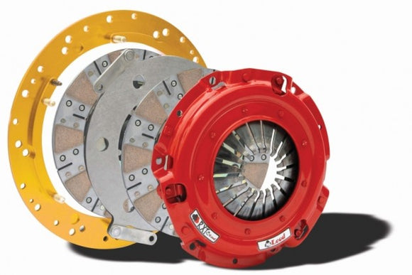 Mcleod - Mustang RXT1200 Street Twin Disc 10 Spline Clutch Kit (86-00 Mustang LX 5.0L ; GT ; 93-98 Cobra)