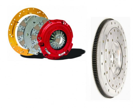 Mcleod - (2011-17) Mustang 5.0L RXT Twin Disc Clutch Kit w/ Aluminum Flywheel