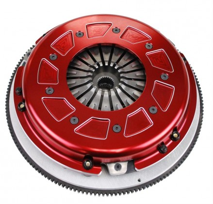 RAM - Pro Street Dual Disc 900 Series Clutch w/ 8 Bolt Aluminum Flywheel - 23 Spline (2011-2018 Mustang GT / 2012-2013 Boss 302)