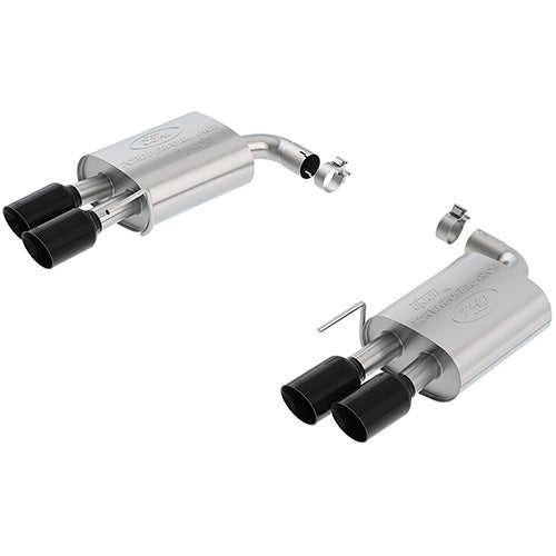 Ford Performance - M-5230-M8EBA Extreme Axle Back Exhaust System - Black Chrome Tips (2018+ Mustang GT 5.0L Coyote)