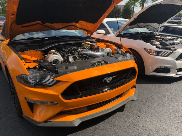 On 3 Performance 2018 – 2019 Mustang GT 5.0 Top Mount Twin Turbo System – S550