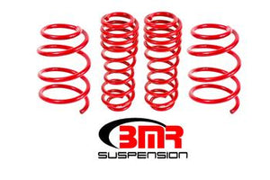 "BMR - Lowering Springs, Set of 4, 1.5"" Drop, Handling, GT"