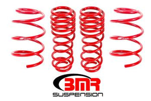 "BMR - Lowering Springs, Set of 4, 1.5"" Drop, Handling, GT500"
