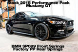 BMR - Lowering Springs, Front, Minimum Drop, Performance Version