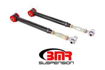 BMR - Lower Control Arms, DOM, On-car Adjustable, Polyurethane & Rod End Combo
