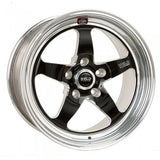 "Weld Racing - Mustang 17x10.5"" S71 RT-S Black Rear Wheel (05-2010 Mustang / 2011-2014 Mustang V6)"