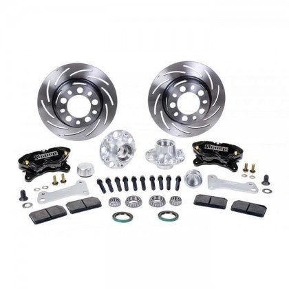 Strange B4152WC Front Brake Kit Pro Series Soft Pads (2005-2014 Mustang)