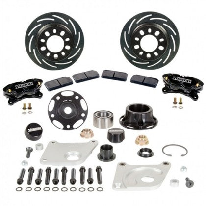 Strange B4152WC2 Pro Series II Front Brake Kit Soft Pads (2005-2014 Mustang)