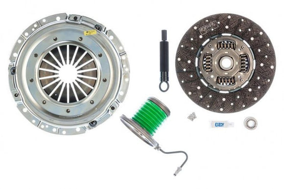Exedy 07807CSC Stage 1 Mach 500 Clutch Kit with Hydraulic Slave Cylinder (2011-2017 Mustang GT)