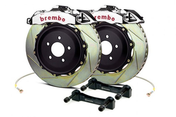 Brembo - (2015-19) Mustang 380mm 4 Piston GT-R Rear Brake Kit (Type 1 Slotted Rotors)