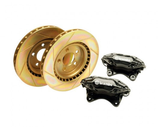 Ford Performance - (1994-04) Mustang Cobra R Front Brake Upgrade Kit