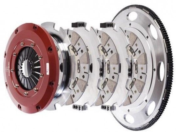 Mantic M931236 9000 Series Street Triple Disk Clutch Kit (11-17 Mustang GT / 2012-2013 Boss 302)