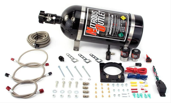 DODGE CHALLENGER Nitrous Outlet Nitrous Oxide Plate Systems (10 Lb bottle)