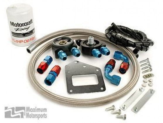 Maximum Motorsports - (2003-04) Cobra Oil Filter Relocation kit