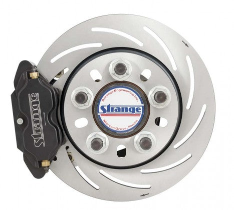 Strange B4148WC Front Brake Kit Pro Series Soft Pads (2005-2014 Mustang)
