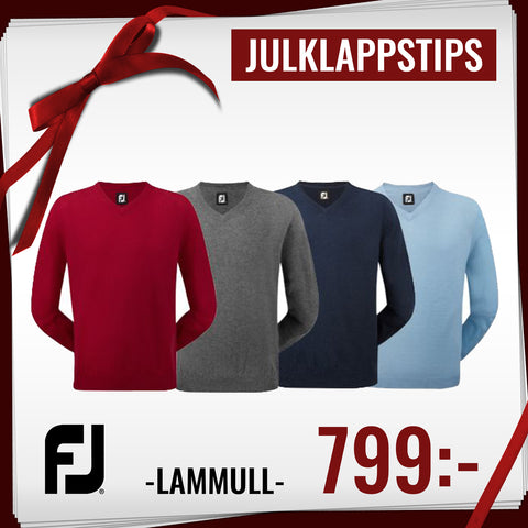 FJ Lambswool V-neck