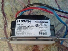 ❶ Lutron HRD-6D Homeworks Rf HW 600 Watt Dimmer Used, Working but Semi-Scratched