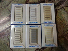 ❶ NEW Lutron STRD RF Keypad + Color Choice Button Kit STRD-6BRL-AL Homeworks HW