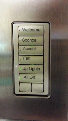 Light Color Keypads get Back Lit Buttons