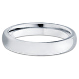 4mm,Tungsten Ring,Tungsten Wedding Band,Tungsten Carbide Ring,Dome,Unisex Ring