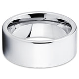 Men's Tungsten Wedding Band - Silver Tungsten Ring - Silver Tungsten Ring - Clean Casting Jewelry