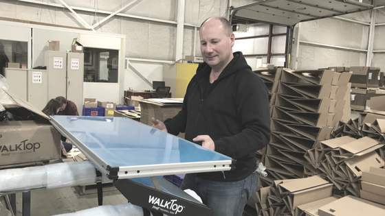 How It's Made: The WalkTop Treadmill Desk