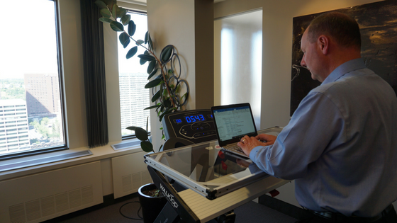why you should have a WalkTop Treadmill Desk at the office