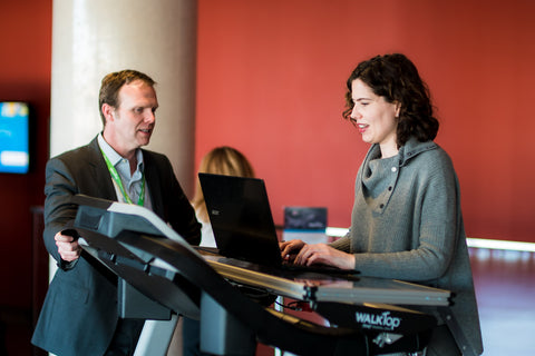 WalkTop Treadmill desk launch event