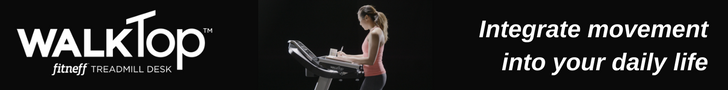 WalkTop Treadmill Desk by Fitneff