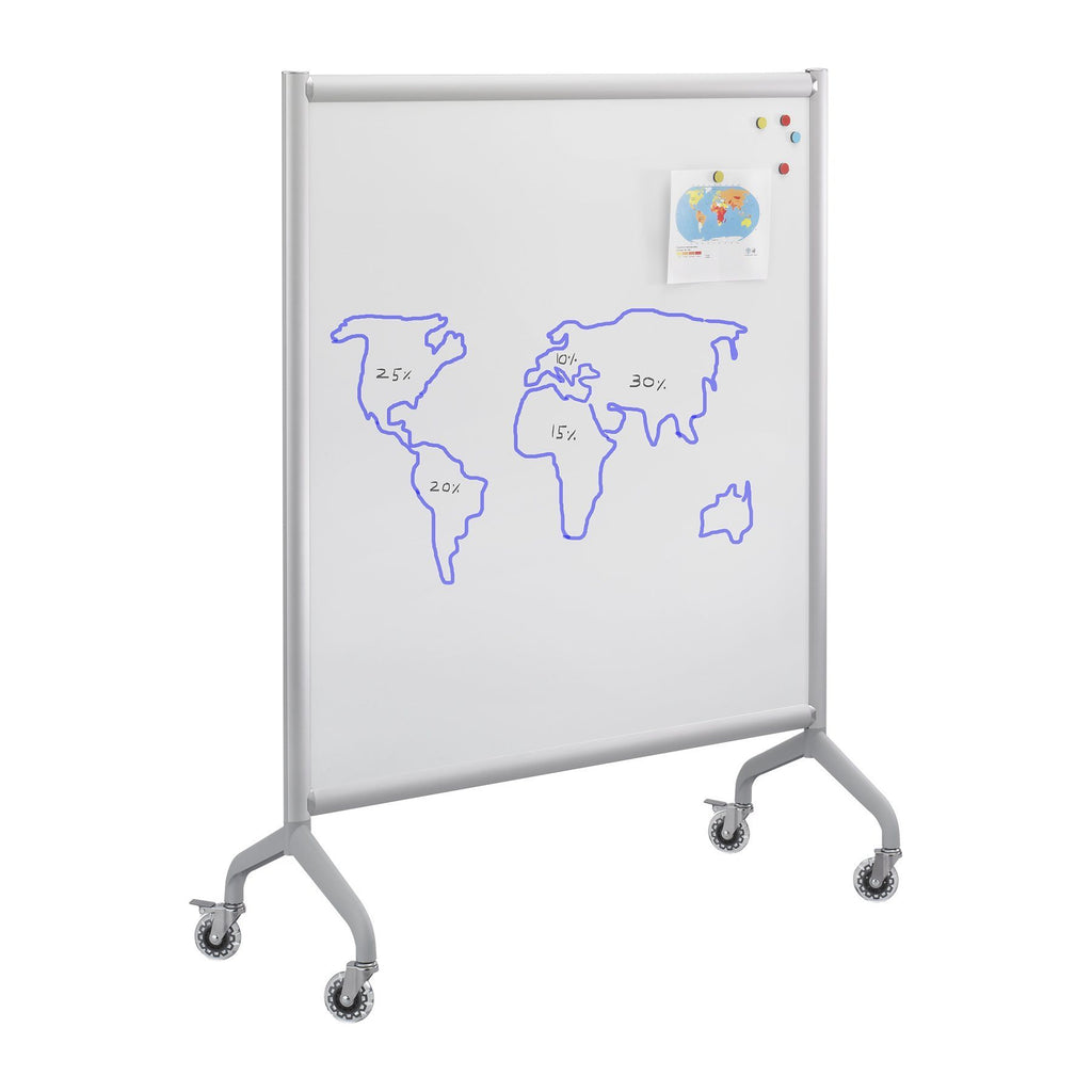 Classroom Whiteboard for students, movable whiteboard, Safco Fitneff United States