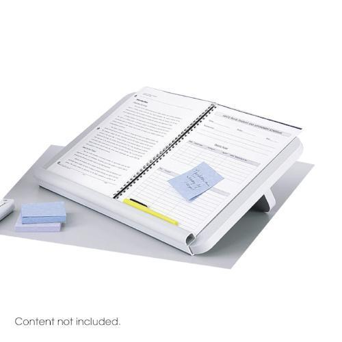 Ergo-Comfort Read/Write Copy Stand Safco Fitneff United States- Light Grey