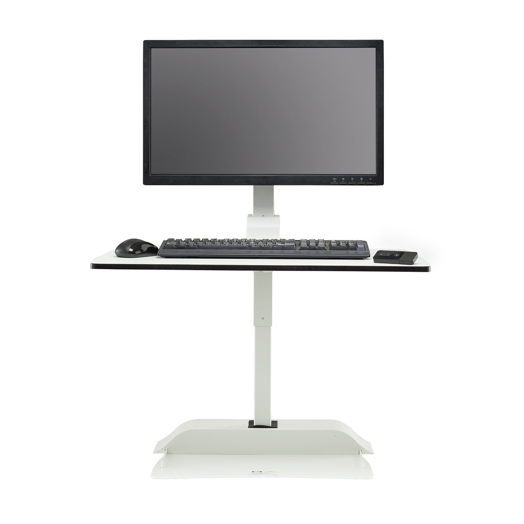 Safco Electric height-adjustable Desktop for single monitor Fitneff United States