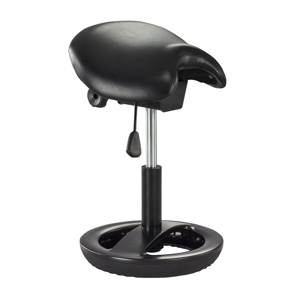 Twixt Saddle Seat Adjustable Height Stool by Safco from Fitneff United States