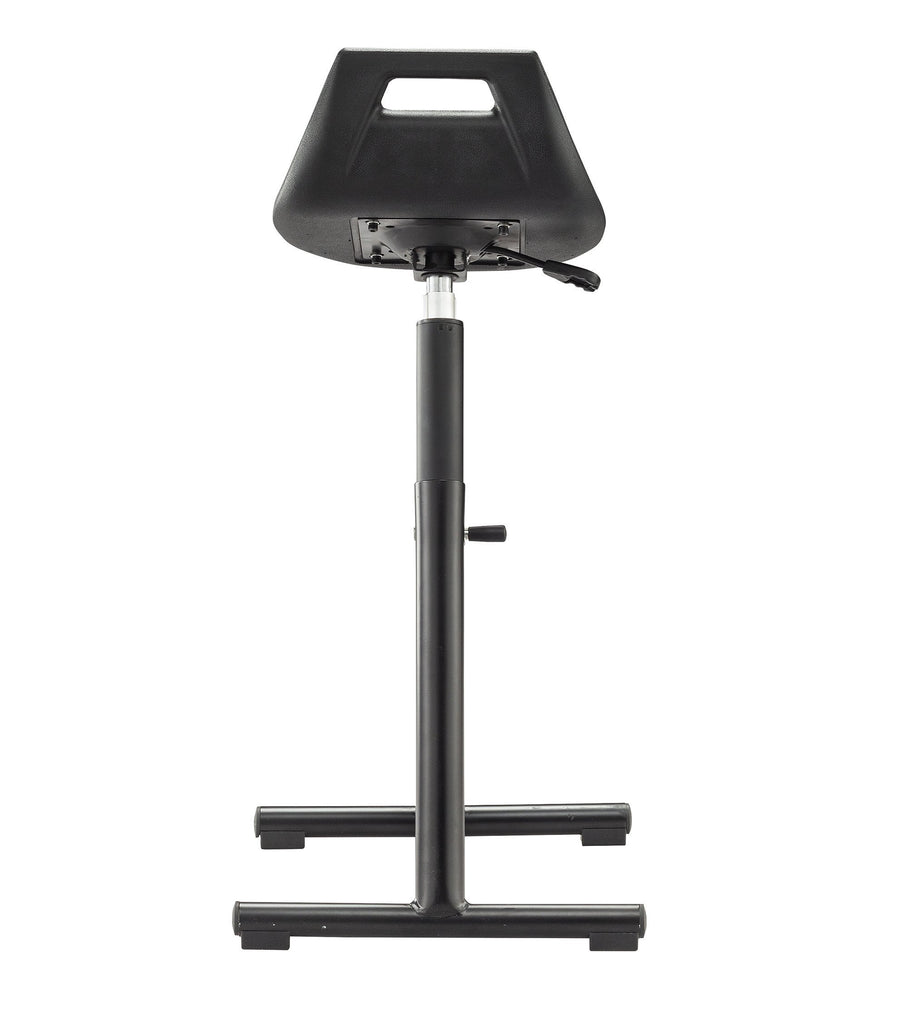 Safco Industrial Perch Stool Black by Fitneff United States