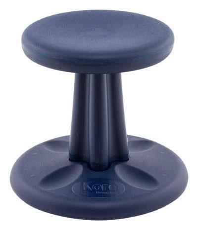 "Dark Blue Kore Pre-School Wobble Chair 12"" Fitneff United States"