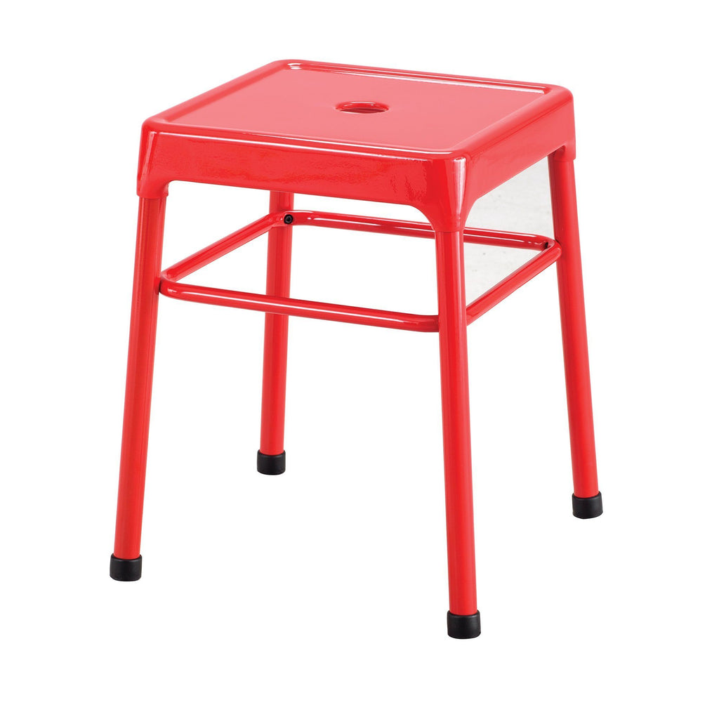"Safco 18"" Steel Guest Stool by Fitneff United States"