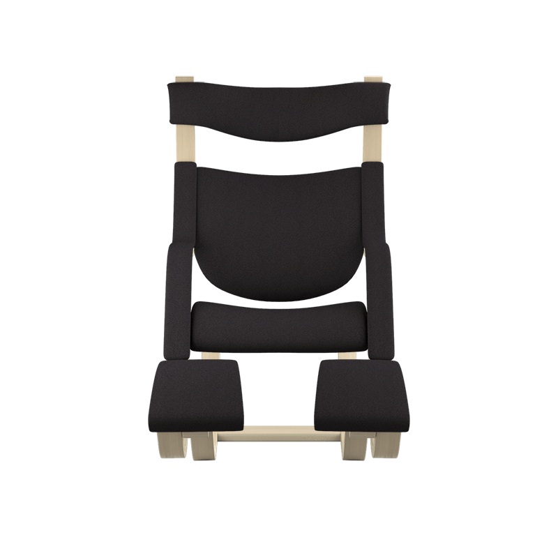 Varier Gravity balans ergonomic Active Chair from Fitneff United States - Black