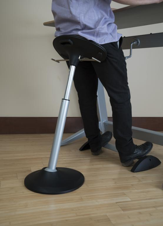 Focal™ Mobis® II Seat Active Stool for Standing Desk at the Office by Fitneff Canada