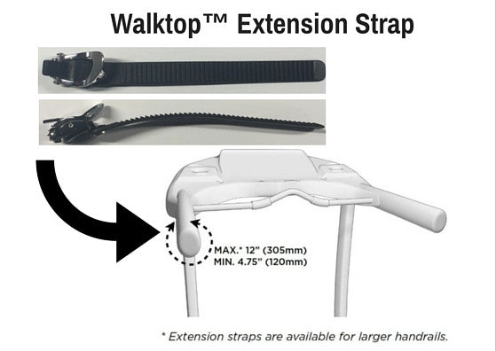 WalkTop™ Extension Straps